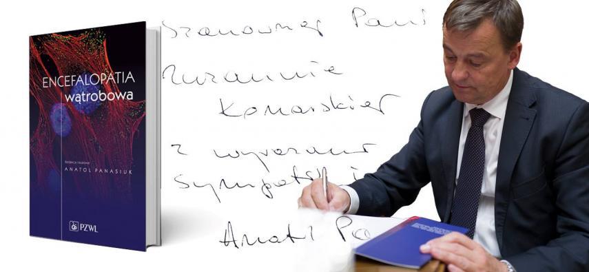 """Wywiad z Profesorem Anatolem Panasiukiem - redaktorem naukowym książki """"Encefalopatia wątrobowa"""""""