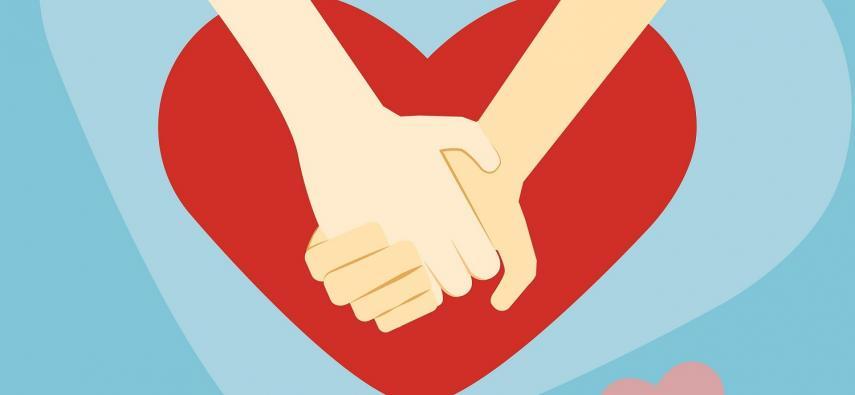 Trzymanie się za ręce zmniejsza odczuwanie bólu?